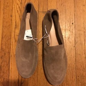 A New Day Suede Loafer Tan Size 11